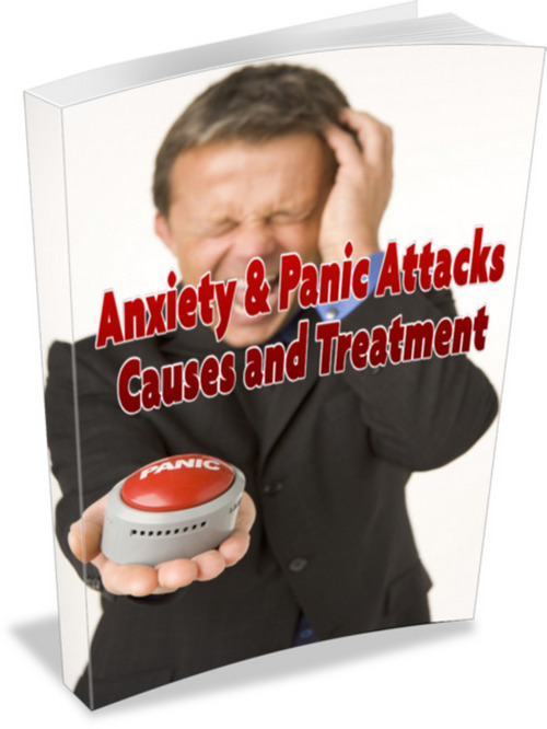 Product picture Anxiety and Panic Attacks Causes and Treatment